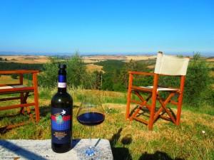 Brunello-e-panorami-Fattoria-del-Colle-Agriturismo-in Toscana
