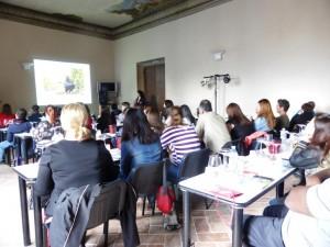 Orcia Wine Class studenti del George Brown College di Toronto
