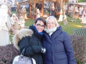 Donatella Cinelli Colombini e Violante Gardini ad Assisi