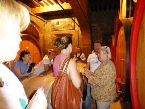 Come raccontarsi ai turisti del vino DonatellaCinelliColombini con i buyer russi