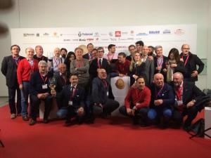 I giurati italiani al Consour international du vin de Bruxelles