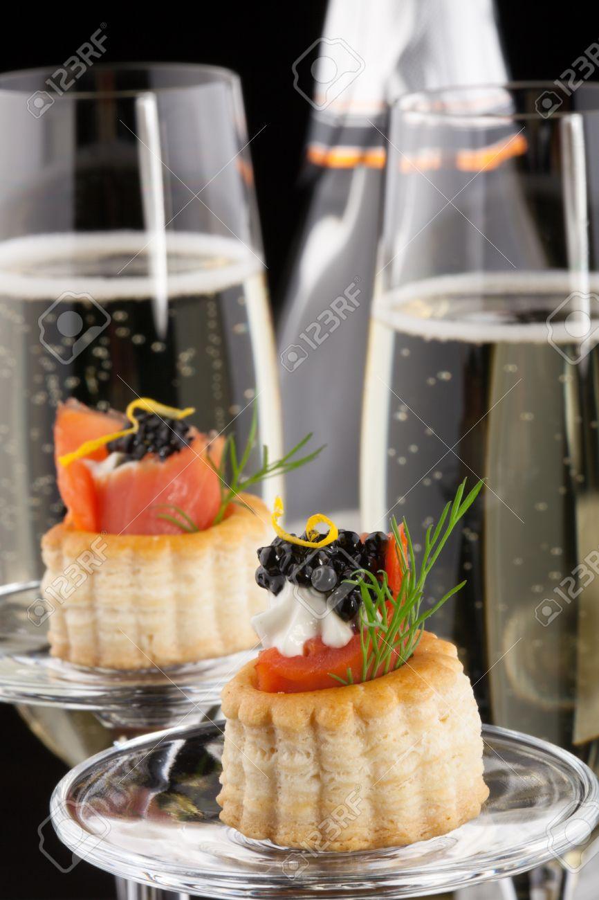 abbinamenti cibo vino salmone e Champagne