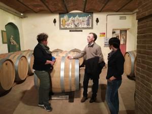 Paolo Basso al Casato Prime Donne di Montalcino