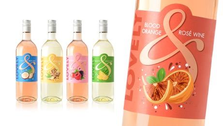 LOVELY vini aromatizzati RBA Design