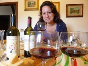 Priscilla Occhipinti serve Onellaia e Montevertine
