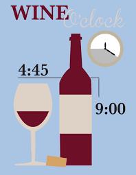 ora del vino wine o'clock