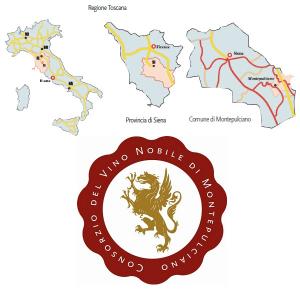 Territorio del vino Nobile di Montepulcinao