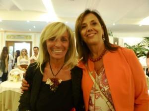 Lorella di Porzio con la Presidente del Tribunale di Napoli