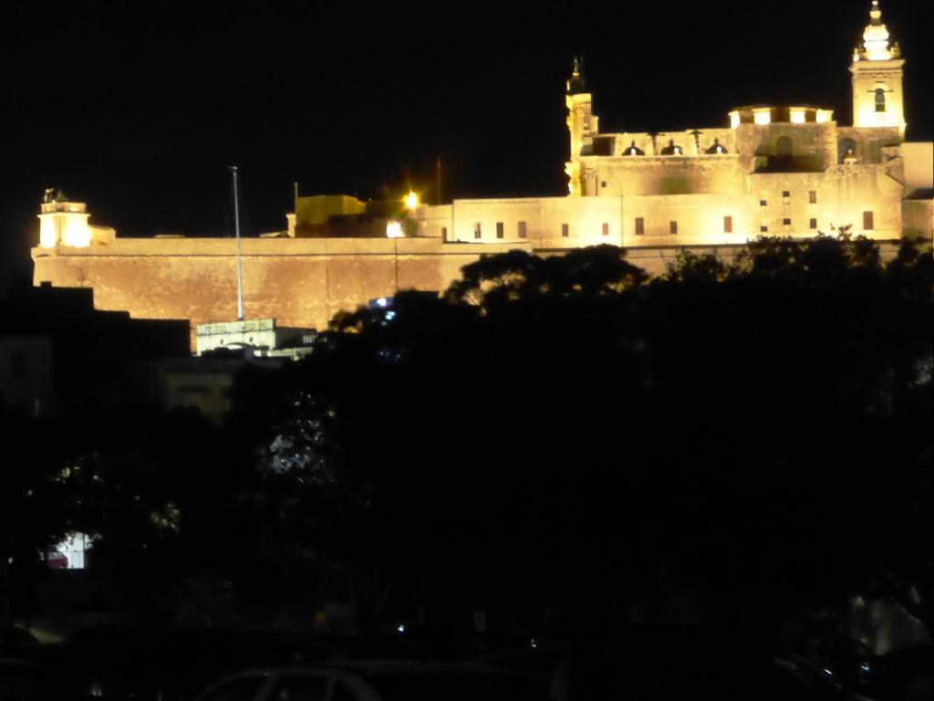 Gozo Cittadelle di notte