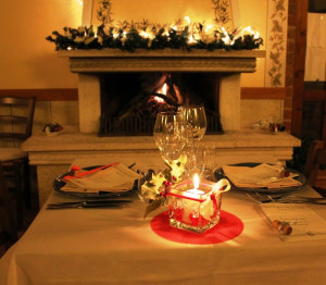 New Year's Eve dinner at Fattoria del Colle