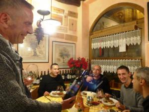 Piancastagnaio-SaxaCuntaria-cena -con-Brunello