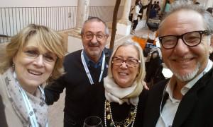 Marzia Morganti, Andrea Gabbrielli, Donatella Cinelli Colombini, Dario Pettinelli 4 amici a #BenvenutoBrunello