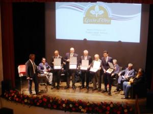 Benvenuto-Brunello-premiazione-Leccio-d'Oro