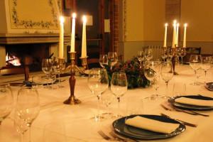 Wine-glasses-Osteria-di-Donatella-Fattoria-del-Colle-Toscana