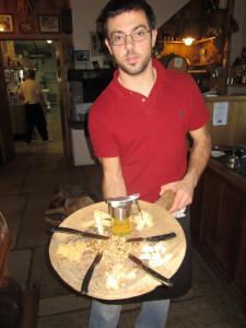 Vino e formaggio Valtellina formaggio Bitto