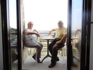 Donatella e Carlo alla Vernaccia Wine Experience