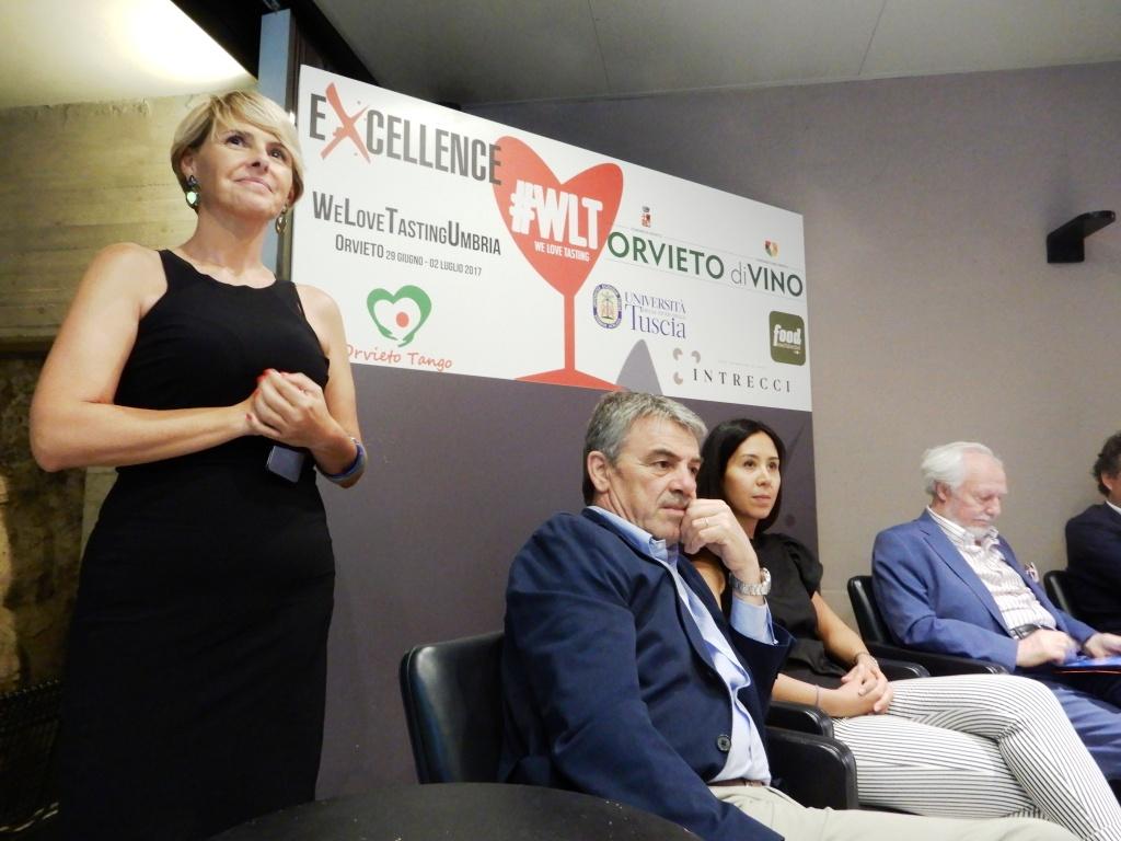 Orvieto Nerina Di Nunzio e Renzo Cotarella