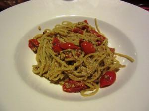 Spaghetti con uova di cernia, Portovecchio Gozo