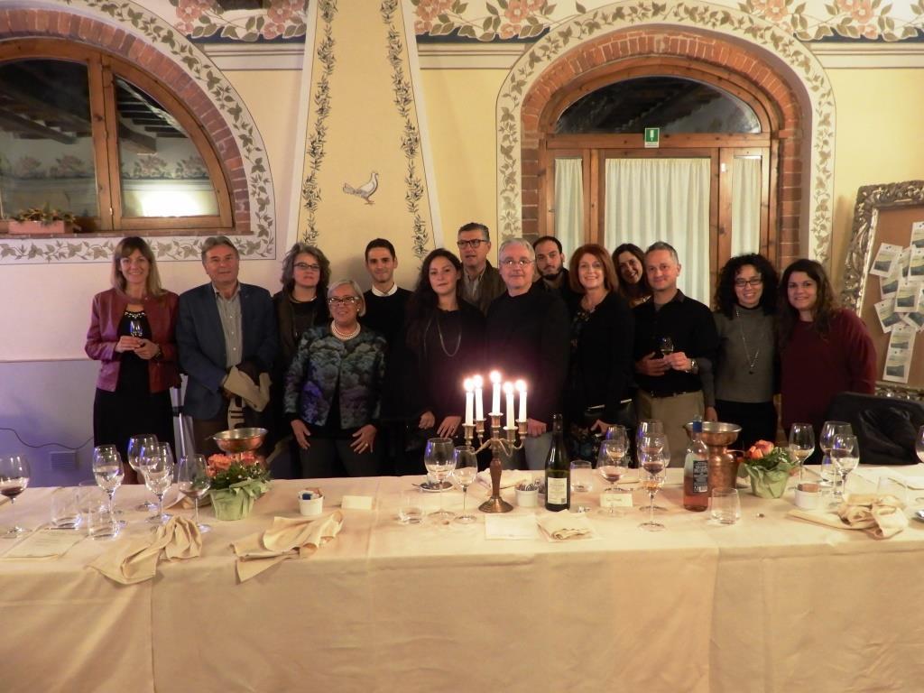 Press tour USA nella Doc Orcia cena finale alla Fattoria del Colle