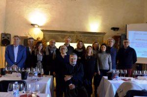 Orcia e gli assaggiatori toscani delle guide dei vini -Mostra mercato del tartufo bianco 2017
