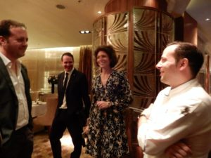 Da Napoli alla Cina: Ferdinando, Enrico, Alessandro e Ivana con Stefano Nicodemo