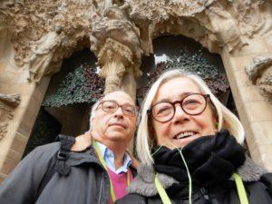 Donatella CinelliColombini e Carlo Gardini a Barcellona