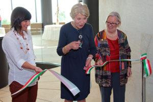 Sveva Casati Modignani inaugura l'evento delle Donne del vino a Portopiccolo