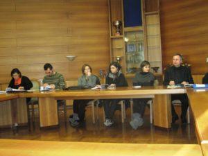 F.CANIN,P. ARAPITSAS, S.GRANDO, 2 ricercatrici,F.MATTIVI