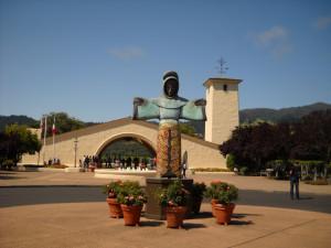 Mondavi winery ingresso