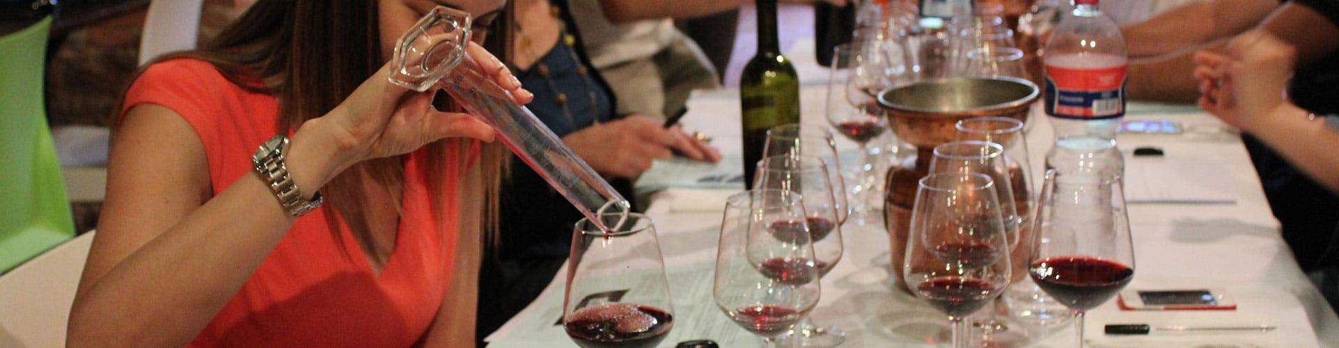 wine tuscan tasting