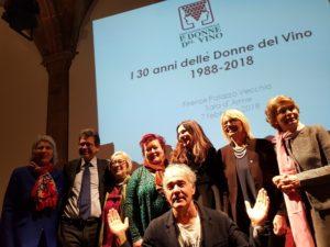 Donne-del-vino-30-anni-festa-a-Firenze-Massimo Giletti