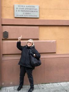 Donatella-insegnante-di-turismo-del-vino-Pisa Scuola -Universitaria-Superiore-Pisa