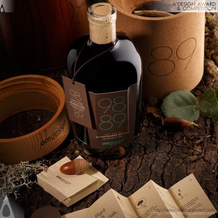 Omdesign 2106- packaging del vino-scatola vaso per querce