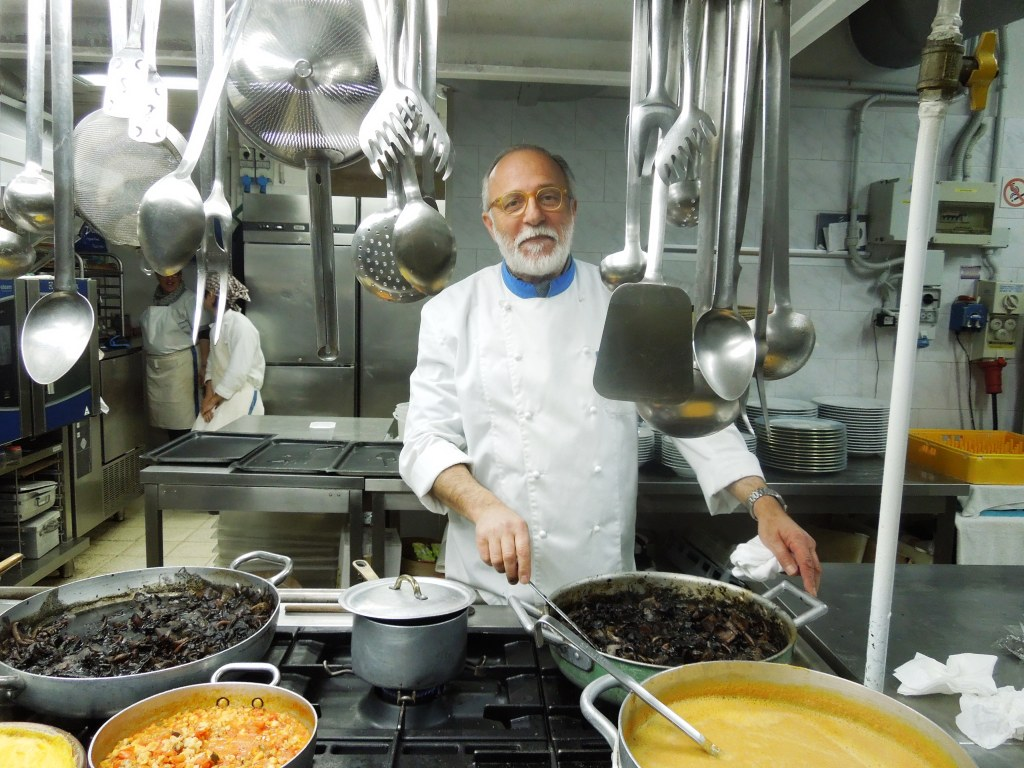 Luciano zazzeri - La Pineta bibbona LI - 8 marzo 2012 - cena Donne del vino