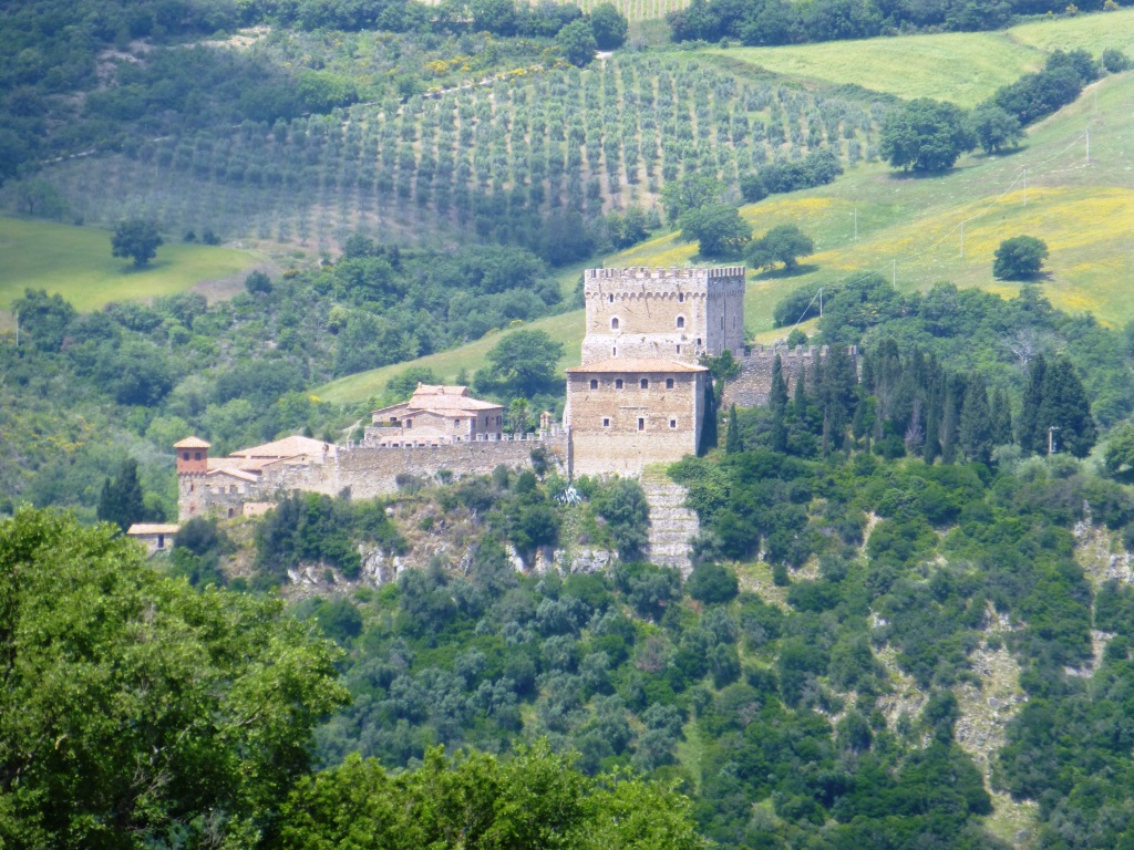 Turismo-dei-panorami-Castello Ripa d'Orcia,