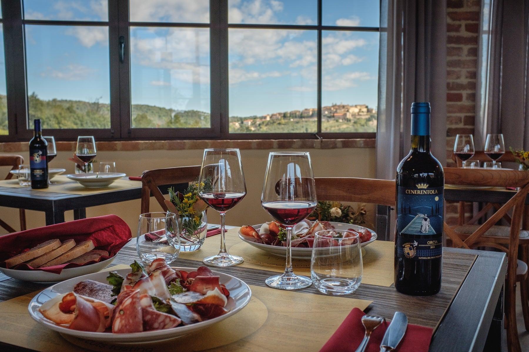 cene-degustazioni- Toscana-agriturismo-Fattoria-del-Colle