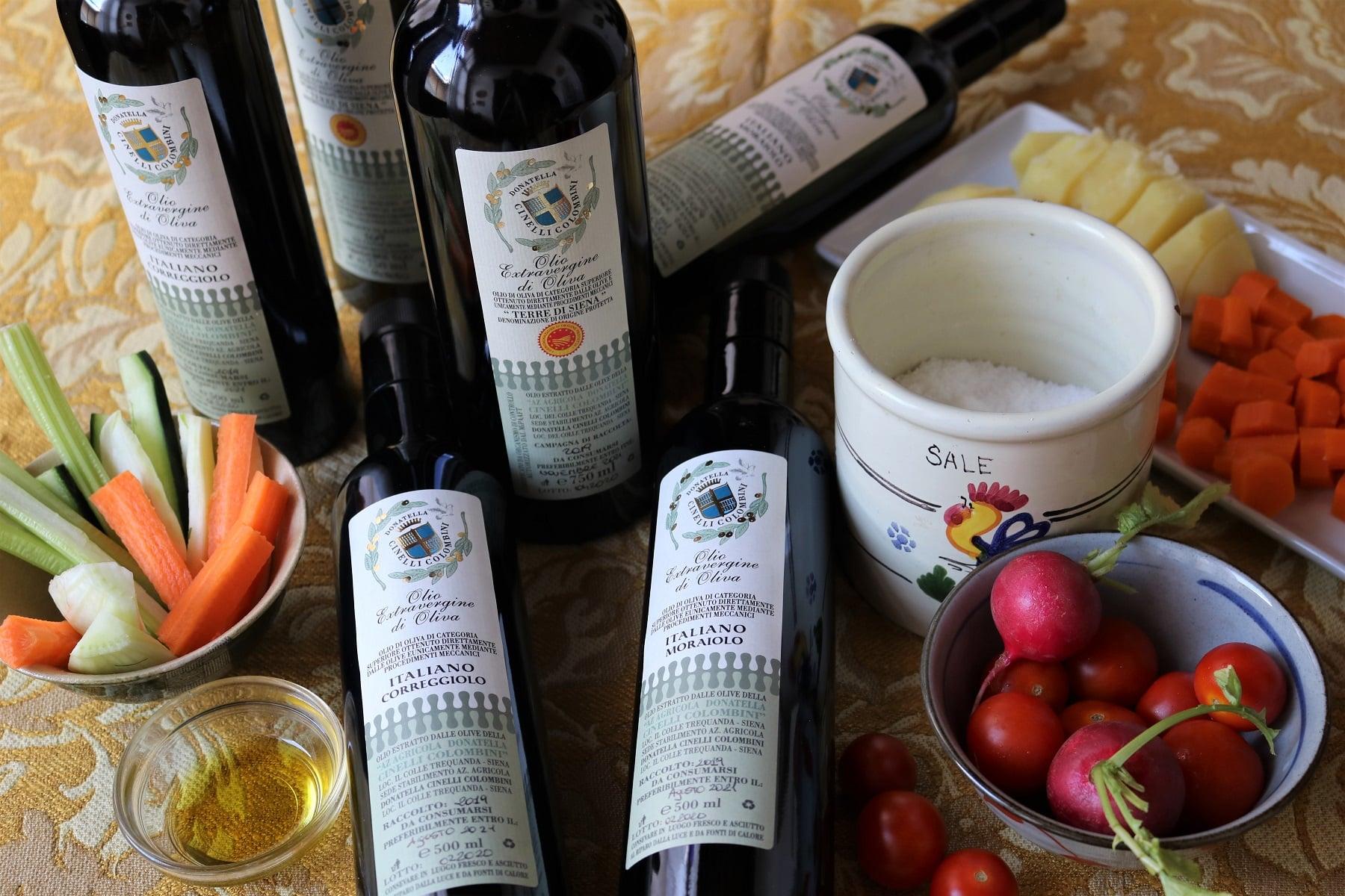 olio extravergine Fattoria del Colle Toscana