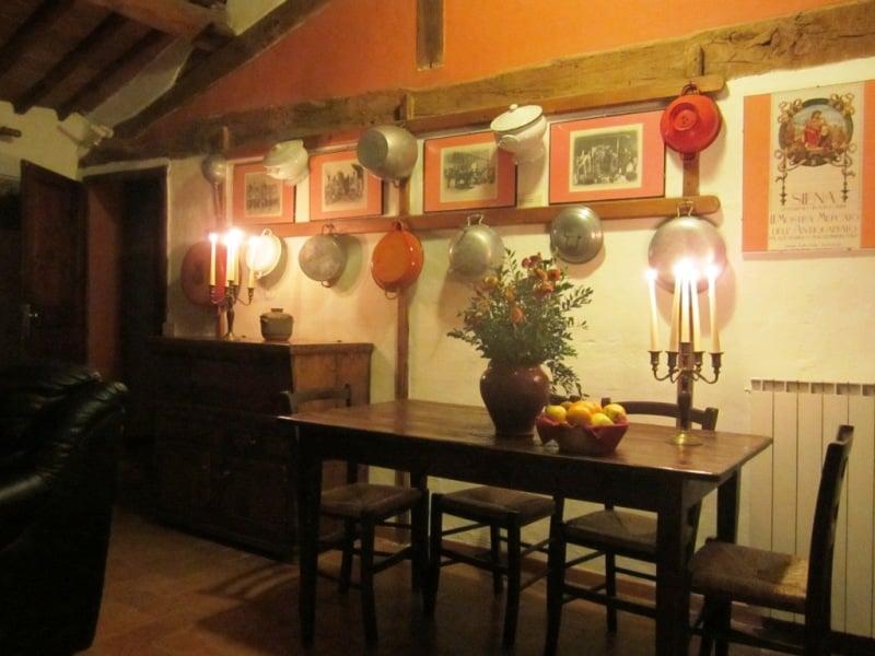 agriturismo Toscana Fattoria del Colle S.Angela alta cucina
