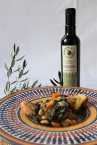 Soup and extra virgin olive oil Fattoria del Colle