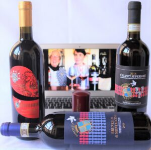 Offerta club di Donatella Cinelli Colombini: Brunello di Montalcino, Supertuscan IGT Il Drago e le 8 Colombe, Chianti Superiore