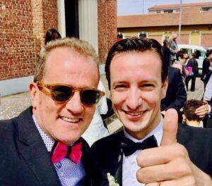 Luca Attanasio e Fabrizio Nonis: il giorno delle nozze